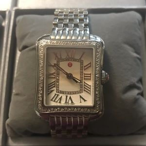 Michele Deco Moderne II Diamond Watch